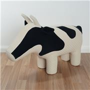 The EDIT - Daisy The Cow Large Chair Black & White