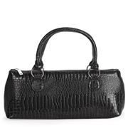 Primeware - Wine Clutch Black Croc