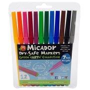 Micador - Dry-Safe Marker Set 12pce