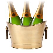Cafe Society - Tassell Champagne Bucket Brass