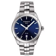 Tissot - PR100 Grey Quartz Steel Blue Dial Watch