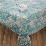 L'Ensoleillade -  Caledonie Coated Tablecloth Turq 200x150cm