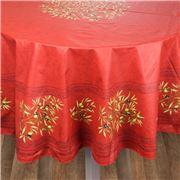 L'Ensoleillade - Clos des Oliviers Rouge Rnd T/Cloth 180cm
