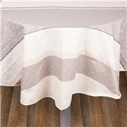 L'Ensoleillade - Jacq. Mallorca Natural Rnd Tablecloth 155cm