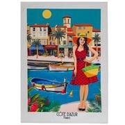 L'Ensoleillade - Cote D'Azur Tea Towel