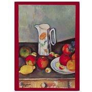 L'Ensoleillade - Cezanne Still Life W/Floral Pitcher T Towel