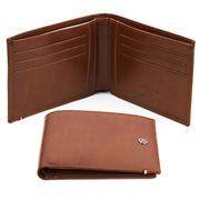 Dupont - Line D Brown Leather Wallet W/Credit Card ID Holder