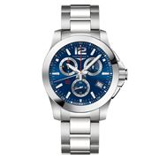 Longines - Conquest Blue Dial S/Steel Chronograph 41mm