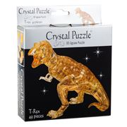 Games - 3D Crystal Jigsaw Puzzle Brown T-Rex