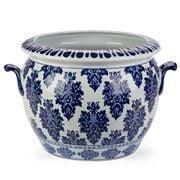 Florabelle - Qin Planter Blue/White
