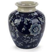 Florabelle - Emperor Blue & White Vase Large