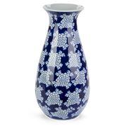 Florabelle - Emperor Curved Vase Blue/White