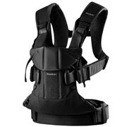 BabyBjorn - Baby Carrier One Cotton Mix Black