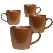 Robert Gordon - Stoneware Mug Set Rust Granite 4pce