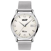 Tissot - Heritage Visodate With White Dial & Mesh Bracelet