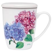 Ashdene - Pastel Hydrangeas Infuser Set 3pce
