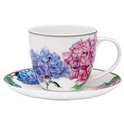 Ashdene - Pastel Hydrangeas Cup & Saucer