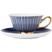 Ashdene - Parisienne Teacup & Saucer Navy