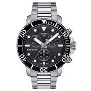 Tissot - Seastar 1000 Black Dial S/Steel Chronograph 45.5mm