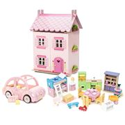 Le Toy Van - Daisy Lane My First Dream House w/Sophie's Car