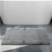 Rans - Waffle Bathmat Grey 50x80cm
