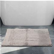 Rans - Waffle Bathmat Silver 50x80cm