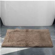 Rans - Waffle Bathmat Taupe 50x80cm