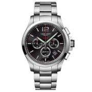 Longines - Conquest V.H.P Blk Dial S/Steel Chronograph 44mm