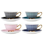 Ashdene - Parisienne Teacup & Saucer Set Assorted 4pce