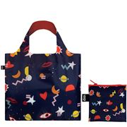 LOQI - Celeste Wallaert Collection Night Night Reusable Bag