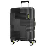 American Tourister - Velton Exp. Spinner  Black/Lime 69cm