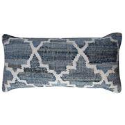 Sugar Sugar - Leela Rectangle Cushion Denim/White