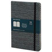 Moleskine - Blend Ruled Notebook Fabric Cover Black Large