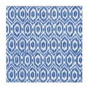 Caspari - Amala Ikat Luncheon Napkins Blue 20pce
