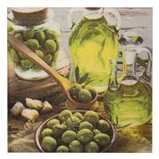 Paper Products Design - Olives Stills Lunch Napkins 20pce