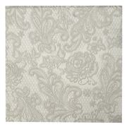Paper Products Design - Royal Pear Lunch Napkin Silver 15pc
