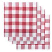 Rans - Bistro Dishcloth Pack Red 4pce