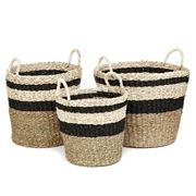 Tribe Home - Knox Basket Set 3pce