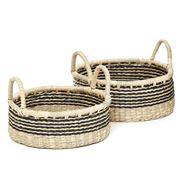 Tribe Home - Hanover IV Basket Set 2pce