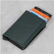 Secrid -  Original Leather Slim Wallet Green