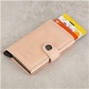 Secrid - Vintage Rose Leather Mini Wallet