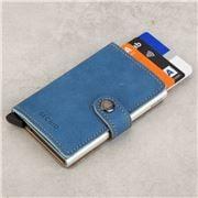 Secrid -  Indigo 3 Leather Mini Wallet