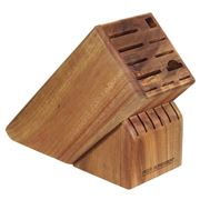 Peer Sorensen - Acacia Wood 17 Slot Knife Block
