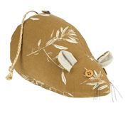 Raine & Humble - Olive Grove Field Mouse Door Stop Mustard