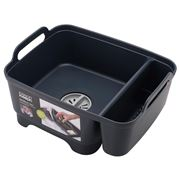 Joseph Joseph - Dishwashing Bowl W/Plug & Storage Bay Grey