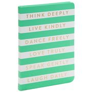 Eccolo - Journal Think Deeply Mint Green