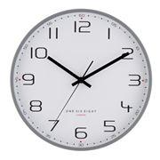 One Six Eight - Carmen Silent Wall Clock Cool Grey 40cm