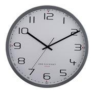 One Six Eight - Carmen Silent Wall Clock Cool Grey 50cm