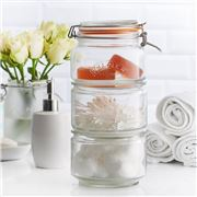 Kilner - Stackable Storage Jar Set 3pce
