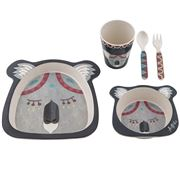 Australiana - Banjo Kids Dinner Set 5pce